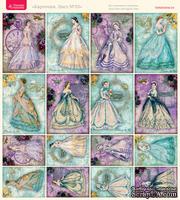 Лист с картинками от Тамары Старцевой - №33, 20,4х21,5 см, 16 шт.