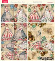 Лист с картинками от Тамары Старцевой - №04, 20,4х21,5 см, 16 шт.