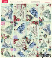 Лист с картинками от Тамары Старцевой - №05, 20,4х21,5 см, 16 шт.
