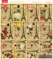 Лист с картинками от Тамары Старцевой - №06, 20,4х21,5 см, 16 шт.