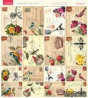 Лист с картинками от Тамары Старцевой - №08, 20,4х21,5 см, 16 шт.