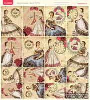 Лист с картинками от Тамары Старцевой - №09, 20,4х21,5 см, 16 шт.