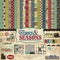 Набор бумаги от Echo Park Paper Co - Times & Seasons Collection Kit, 30x30
