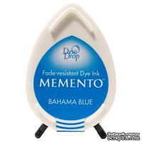 Чернила для штампинга Tsukineko - Memento Dew Drops Bahama Blue