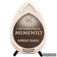 Чернила для штампинга Tsukineko - Memento Dew Drop Espresso Truffle