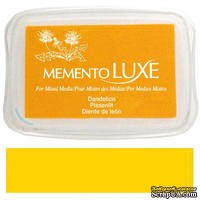 Чернила Tsukineko Memento Luxe - Dandelion