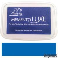 Чернила Tsukineko Memento Luxe - Danube Blue