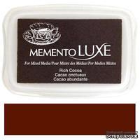 Чернила Tsukineko Memento Luxe - Rich Cocoa