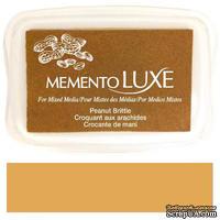 Чернила Tsukineko Memento Luxe - Peanut Brittle