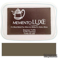 Чернила Tsukineko Memento Luxe - Espresso Truffle