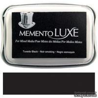 Чернила Tsukineko Memento Luxe - Tuxedo Black