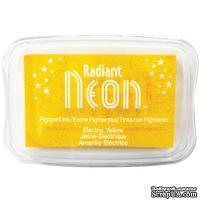 Чернила Tsukineko Radiant Neon Ink Pad - Electric Yellow