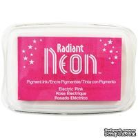 Чернила Tsukineko Radiant Neon Ink Pad - Electric Pink