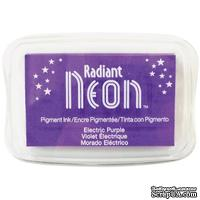 Чернила Tsukineko Radiant Neon Ink Pad - Electric Purple - ScrapUA.com