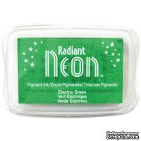 Чернила Tsukineko Radiant Neon Ink Pad - Electric Green