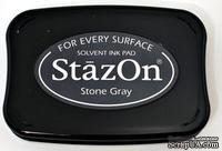 Перманентные чернила Tsukineko - StazOn Pads Stone Gray