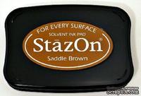 Перманентные чернила Tsukineko - StazOn Pads Saddle Brown