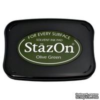 Перманентные чернила Tsukineko - StazOn Pads Olive