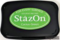 Перманентные чернила Tsukineko - StazOn Pads Cactus Green