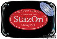 Перманентные чернила Tsukineko - StazOn Pads Cherry Pink