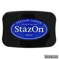 Перманентные чернила Tsukineko - StazOn Pads Azure