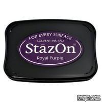 Перманентные чернила Tsukineko - StazOn Pads Royal Purple