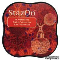 Чернила Tsukineko StazOn Midi Ink Pad - St. Valentine