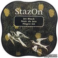 Чернила Tsukineko StazOn Midi Ink Pad - Jet Black