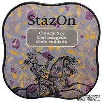 Чернила Tsukineko StazOn Midi Ink Pad - Cloudy Sky