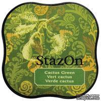 Чернила Tsukineko StazOn Midi Ink Pad - Cactus Green