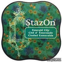 Чернила Tsukineko StazOn Midi Ink Pad - Emerald City