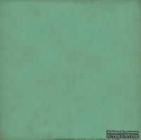 Лист скрапбумаги от Echo Park - TEAL/YELLOW, 30х30 см