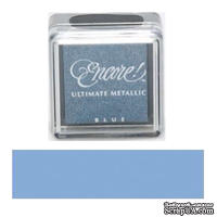 Чернила Tsukineko Encore Ultimate Metallic Small Ink Pad - Blue