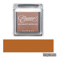 Чернила Tsukineko Encore Ultimate Metallic Small Ink Pad - Bronze