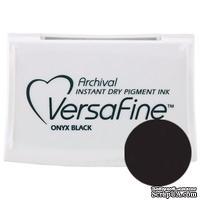 Пигментные быстросохнущие чернила Tsukineko - VersaFine Pads Onyx Black