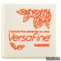 Пигментные быстросохнущие чернила Tsukineko - VersaFine 1in Cube Pads Habanero