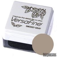 Пигментные быстросохнущие чернила Tsukineko - VersaFine 1in Cube Pads Smokey Grey - ScrapUA.com