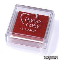 Пигментные чернила Tsukineko - VersaColor Small Pads Scarlet