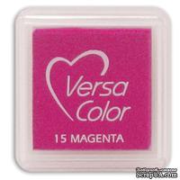 Пигментные чернила Tsukineko - VersaColor Small Pads - Magenta - ScrapUA.com