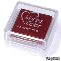Пигментные чернила Tsukineko - VersaColor Small Pads Rose Red