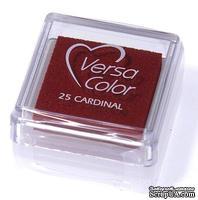 Пигментные чернила Tsukineko - VersaColor Small Pads Cardinal