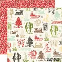 Лист двусторонней бумаги от Echo Park-Christmas Memories