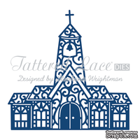 Нож для вырубки от Tattered Lace - Tattered Lace Dies - Decadent Church - Церковь