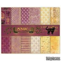 Набор двусторонней скрапбумаги UHK Gallery - Magic Twilight, 30х30 см