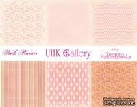 Набор двусторонней скрапбумаги UHK Gallery - Strawberry fields, 30,5х30,5 см, 6 листов