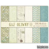 Набор двусторонней скрапбумаги UHK Gallery - Gaj Oliwny, 30,5х30,5 см, 6 листов