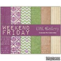 Набор двусторонней скрапбумаги UHK Gallery - Friday, 6 листов