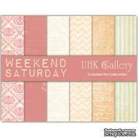 Набор двусторонней скрапбумаги UHK Gallery - Saturday, 6 листов