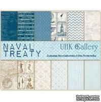 Набор двусторонней скрапбумаги UHK Gallery - Naval Treaty, 6 листов