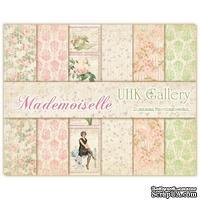 Набор двусторонней скрапбумаги UHK Gallery - Mademoiselle, 30х30 см